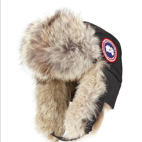 8aae9b1a60f Canada Goose Aviator Hat like new